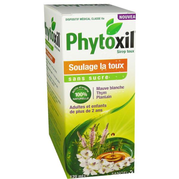 Phytoxil Soulage La Toux Sirop 120 Ml Sans Sucre